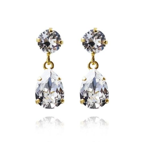 Mini Drop Earrings Crystal