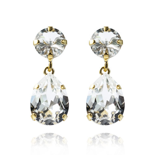 Classic Drop Earrings Crystal