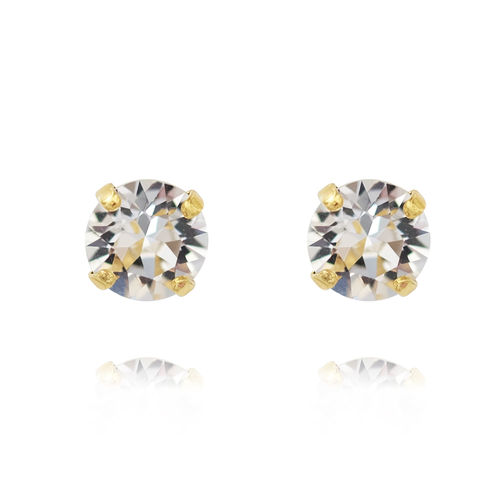 Classic Stud Earrings Crystal