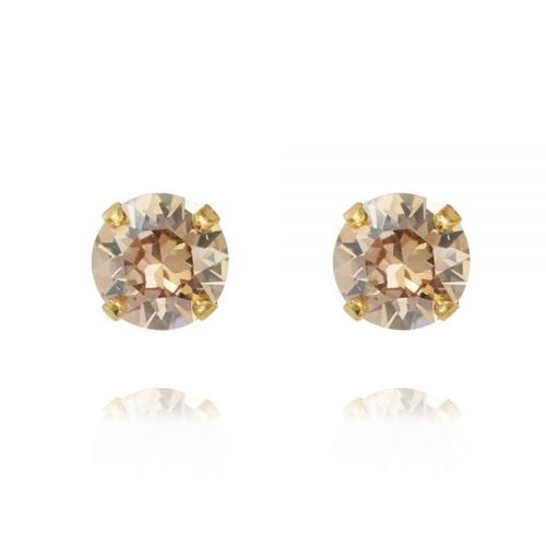Classic Stud Earrings Golden Shadow
