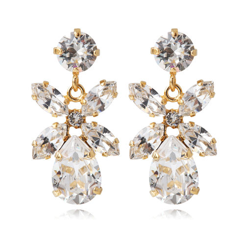 Mini Dione Earrings Crystal