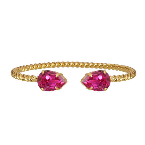 Mini Drop Bracelet Fuchsia