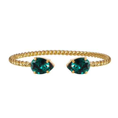 Mini Drop Bracelet Emerald