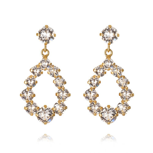 Mini Delia Earrings Crystal