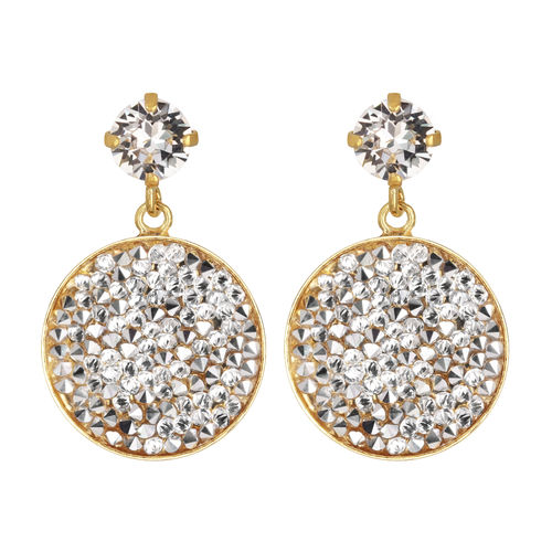 Chloe Rocks Earrings Crystal