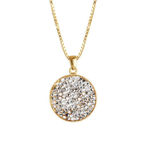 Chloe Rocks Necklace Crystal