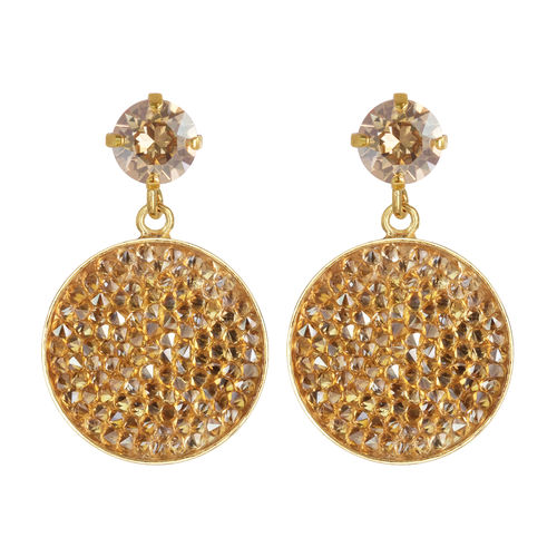Chloe Rocks Earrings Golden Shadow