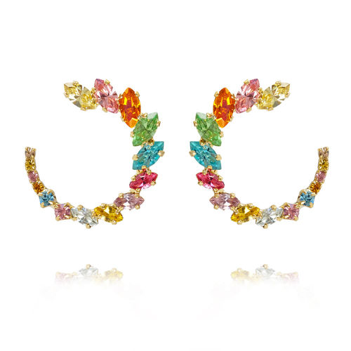 Angie Earrings Rainbow