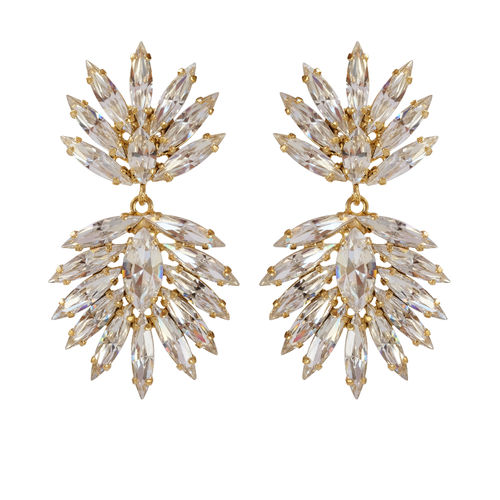 Cina Earrings Crystal