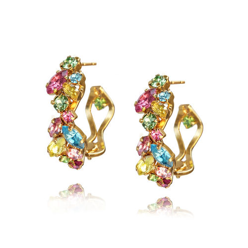 Stella Rainbow Loop Earrings